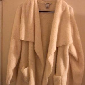 Plus Size NWOT Alfani Faux Fur Cardigan
